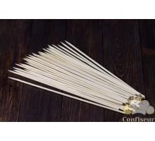 Шпажки бамбуковые круглые 35см, d 5 мм (50 штук)