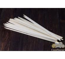 Шпажки бамбуковые плоские 40см, ширина 1см (25 штук)