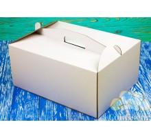 Коробка для торта 300*400*400 белая
