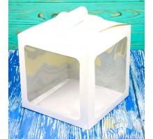 Коробка для торта 210*210*210 белая