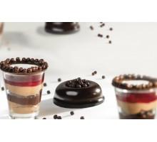 Декор из Черного шоколада - Crispearls ™ Dark
