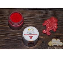 Confiseur - краситель сухой блеск Огненный красный