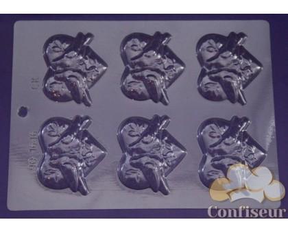 """Молд для шоколада 1646 """"Любовь и голуби"""""""