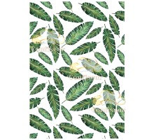 Film decal A-4 Palm leaves 1pc