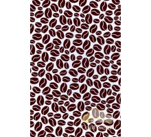 Film decal A-4 coffee beans