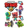 """Edible wafers images """"Brawl Stars"""" -10"""