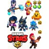"""Edible wafers images """"Brawl Stars"""" -11"""