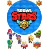 """Edible wafers images """"Brawl Stars"""" -12"""