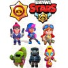 """Edible wafers images """"Brawl Stars"""" -13"""