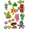 """Edible wafers images """"Brawl Stars"""" -16"""