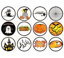 """Вафельная картинка """"Halloween""""-1"""