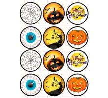 """Вафельная картинка """"Halloween""""-2"""