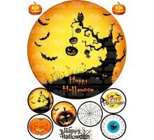 """Вафельная картинка """"Halloween""""-4"""