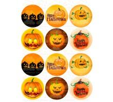 """Вафельная картинка """"Halloween""""-6"""