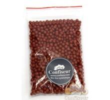 Сахарные жемчужины красные 4 мм - 50 грамм