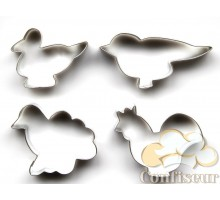 Вырубки (532) набор Домашние птицы