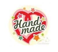 "Наклейки ""Hand Made-1"" 10 шт"