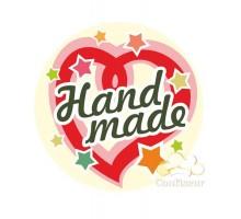 """Sticker """"Hand Made-1"""" 10 PCs"""