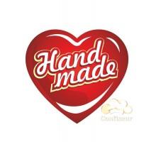 """Sticker """"Hand Made-2"""" 10 PCs"""