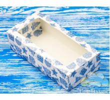 "Box М0008-о24 ""pencil Case"" New year, blue"
