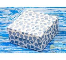 "Box М0053-O7 ""Kiev"" New year, blue"